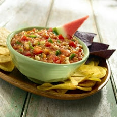 Grilled Fruit & Cucumber Salsa