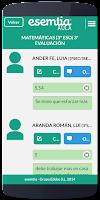 Screenshot of AULA esemtia