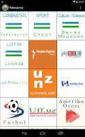 Screenshot of Ўзбекистон Uzbekistan News