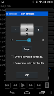 Audio Speed Changer : Audipo Screenshot