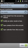 Screenshot of Exchange ExMail