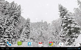 Screenshot of Snowfall 360° Free