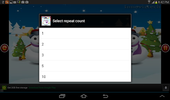 Screenshot of Kid Nursery Rhyme Jingle Bells