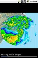 Screenshot of NWS Weather
