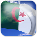 3D Algeria Flag icon