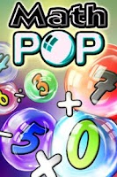Screenshot of Math Pop