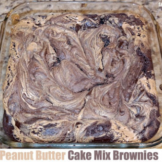 Cake Mix Brownies With Peanut Butter Recipes
