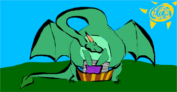 Even dragons got dirty clothes