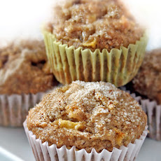 Apple-Pear Multigrain Muffins