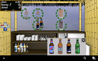 Screenshot of Tiki Bar: Free Bartender Game