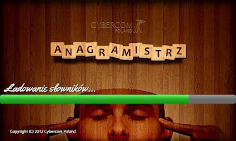 Screenshot of Anagramistrz by Cybercom