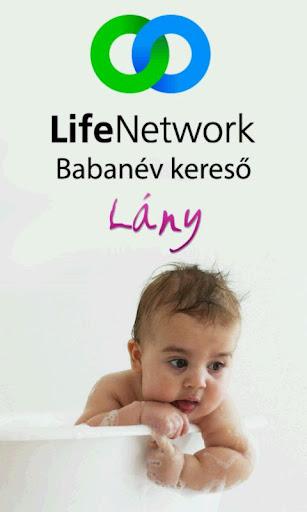 Babanév Kereső Lány