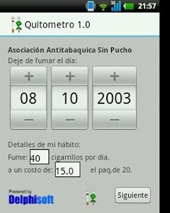 Quitometro - Sin Pucho - screenshot