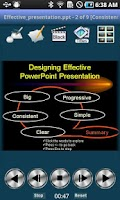 Screenshot of PowerPoint Remote Control