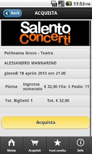 Salento Concerti - screenshot