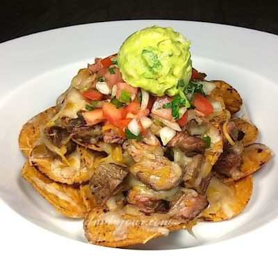 Game Day Grilled Steak Nachos