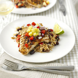 Cajun Turkey Steaks With Pineapple Salsa