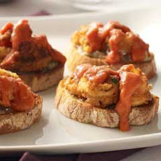 Fried Calamari Crostini