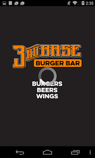 3rd Base Burger Bar - screenshot