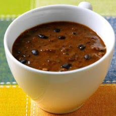 Black Bean Soup with Cumin and Cilantro