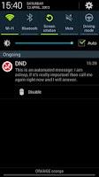 Screenshot of DND - Do Not Disturb