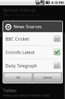 Screenshot of Sports Eye Cricket - Lite
