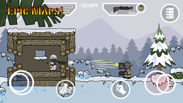Doodle Army 2 : Mini Militia APK screenshot thumbnail 4