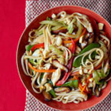 Chicken and Spring Vegetable Lo Mein