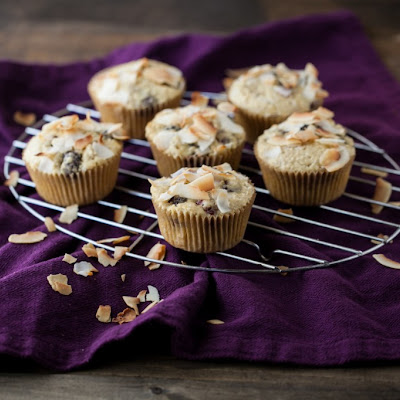 Blackberry Coconut Muffins