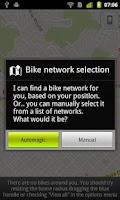 Screenshot of CityBikes