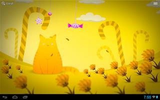 Screenshot of Hamlet the cat LWP