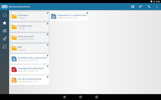 Screenshot of Oodrive Sync