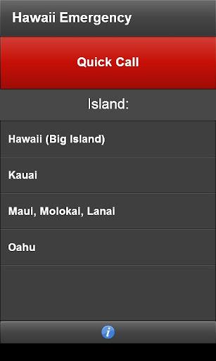 【免費生活App】Hawaii Emergency-APP點子