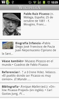 Screenshot of Wikipedia con Movistar (Es)