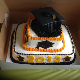 Graduation cake by Terry Linton - Food & Drink Cooking & Baking