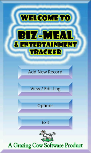 Business Meal Tracker