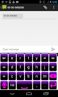 Screenshot of Neon Keyboard