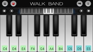 Screenshot of Walk Band: Piano,Guitar,Drum..
