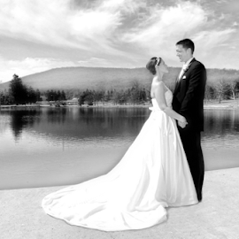 by Joyce White - Wedding Bride & Groom (  )