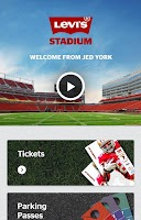 Screenshot of Levi's Stadium App