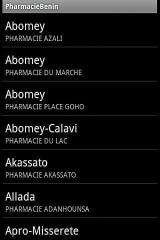 PharmacieBenin