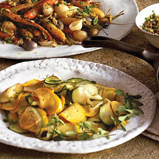 Warm Summer Squash Salad