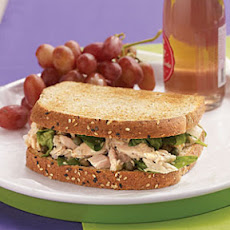 Tuna Florentine Sandwiches with Lemon-Caper Vinaigrette