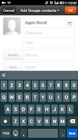 Screenshot of Smart Black Keyboard -  Emoji