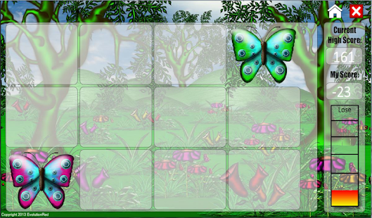 Butterflies Matching Game - screenshot