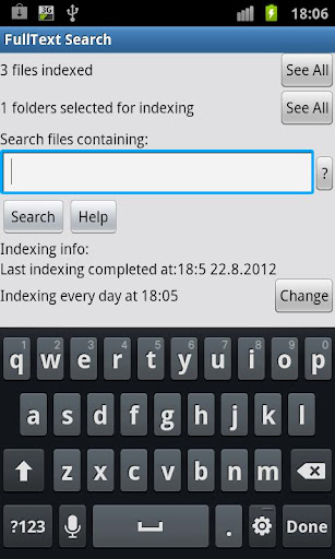 FullText Search
