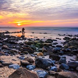 Pantai-Kiamsam. Labuan by Daimasara Abdullah - Landscapes Sunsets & Sunrises