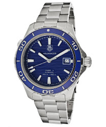 TAG Heuer Men's Aquaracer Automatic Blue Dial Stainless Steel TAG-WAK2111.BA0830 Watch