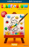 Screenshot of Color & Draw for kids