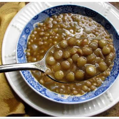 Five Minute Lentil Soup